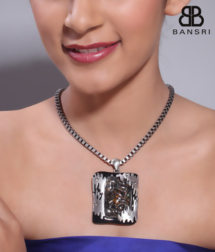 Bansri Swanky Metal Touch Necklace
