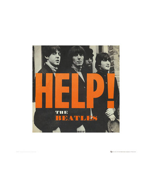 A Beatles Help (15.7 x 15.7 Inches)
