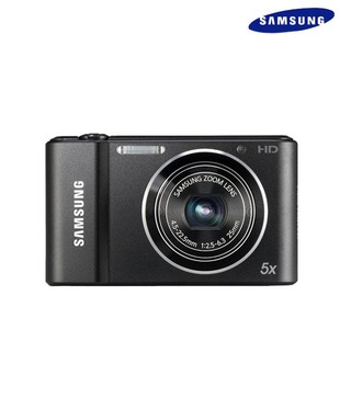 Samsung ST66 16.1MP Point & Shoot Digital Camera (Black)