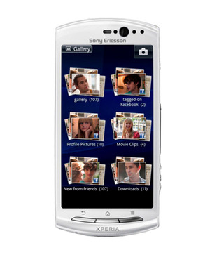 Sony Ericsson Xperia neo V-White