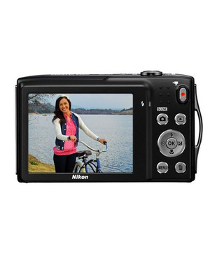 Nikon Coolpix S3300 16.MP Point & Shoot Digital Camera (Black)