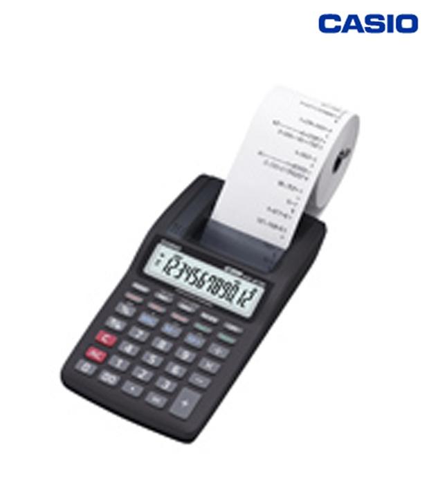 Casio Mini Printer Calculator Hr 8tm Buy Online At Best