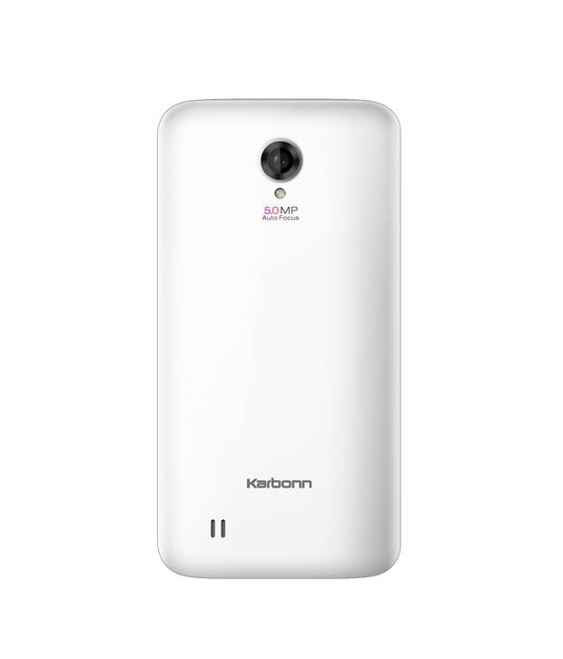 Karbonn K62  WhiteKarbonn A21 White Price